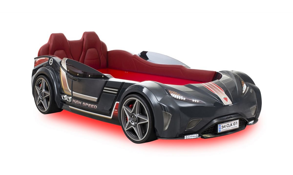 Cilek Детская кровать-машина GTI (серая)