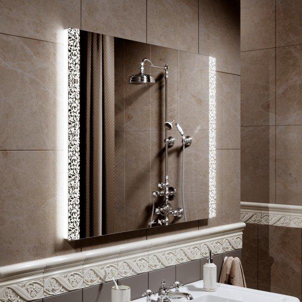 Alavann Зеркало с подсветкой Delveto 90