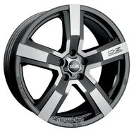 OZ Racing Versilia 8x18/5x127 D71.6 ET45 Matt Black Diamond Cut - фото 1
