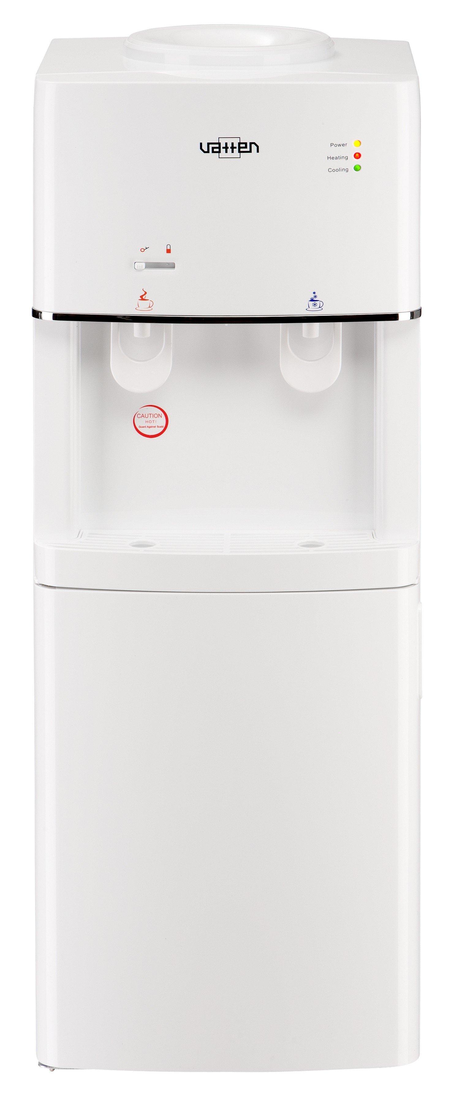 Кулер для воды Vatten V16WKA напольный, с нагревом и охлаждением