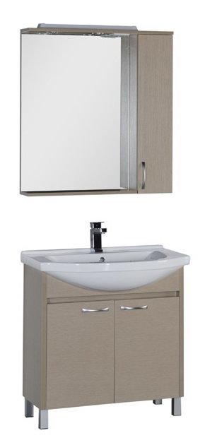 """Мебель для ванной Aquanet Донна 80 (цвет """"светлый дуб"""")"""