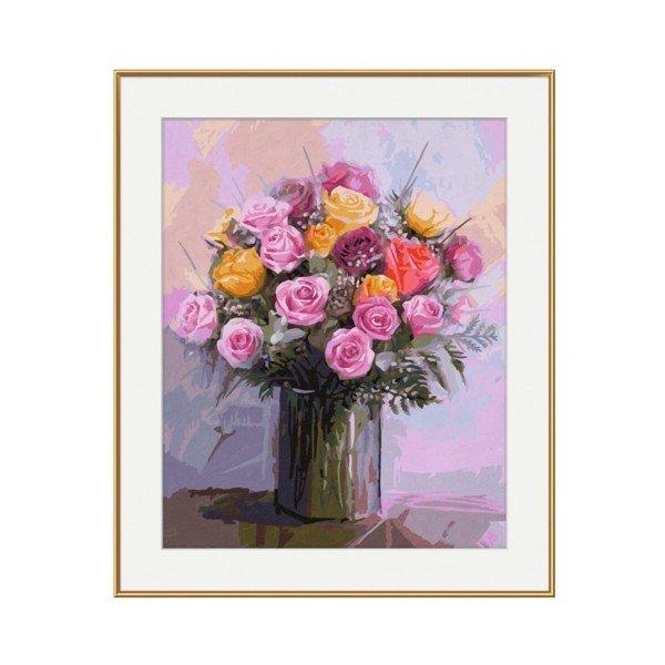 Раскраска Schipper Букет роз