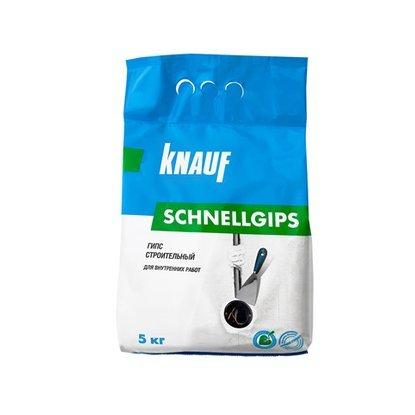 Гипс строительный KNAUF Шнельгипс для внутренних работ 2 кг