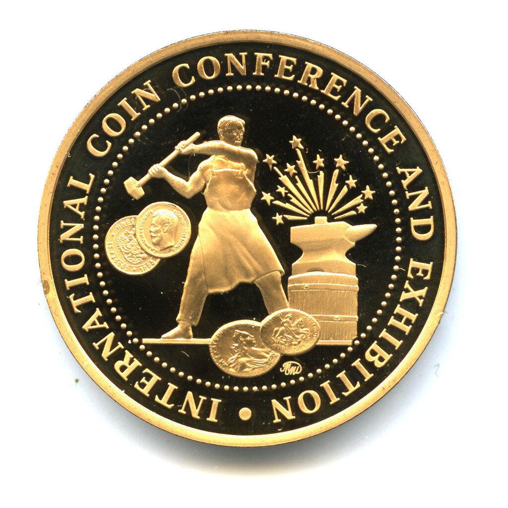 Жетон «Coins 2016» — Международная нумизматическая конференция в Москве