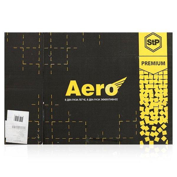 Шумоизоляция StP Вибропласт Aero 0,75x0,47м, толщина 2 мм, 10 листов