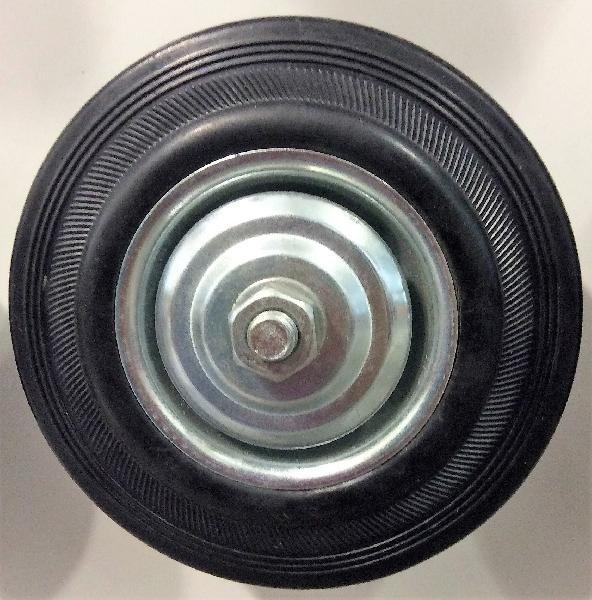Колеса осевые, литые резиновые арт. С