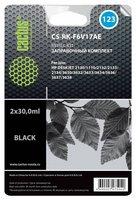 Заправочный набор Cactus CS-RK-F6V17AE (HP 123) черный 60мл для HP DJ 2130.