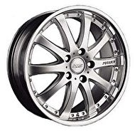 Racing Wheels H-332 8.5x19 5x120 ET 15 Dia 74.1 HS - фото 1