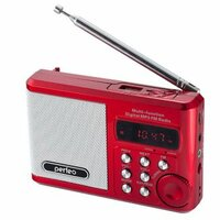 Радиоприёмник Perfeo PF-SV922 красный