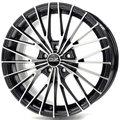 Колесные литые диски Oz Racing EGO 7x16 4x108 ET25 D65.1 Чёрный глянцевый с полированной лицевой частью (W8505205254) - фото 1