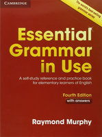 """Raymond Murphy """"Essential Grammar in Use 4th Edition Book with Answers"""""""