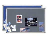 Текстильная, информационная доска Magnetoplan, синяя, 120x90 см., 1412003