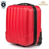 Чемодан для ручной клади Wittchen VIP Collection V25-10-232-35 красный ABS 42 см