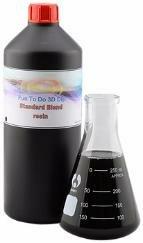 Пластик для 3D принтера черный 3DMALL Фотополимер Fun To Do Standard Blend, чёрный (1 л.)