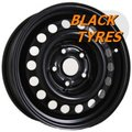 Диск колесный Trebl 9601 6x16/5x130 D78.1 ET68 Black - фото 1