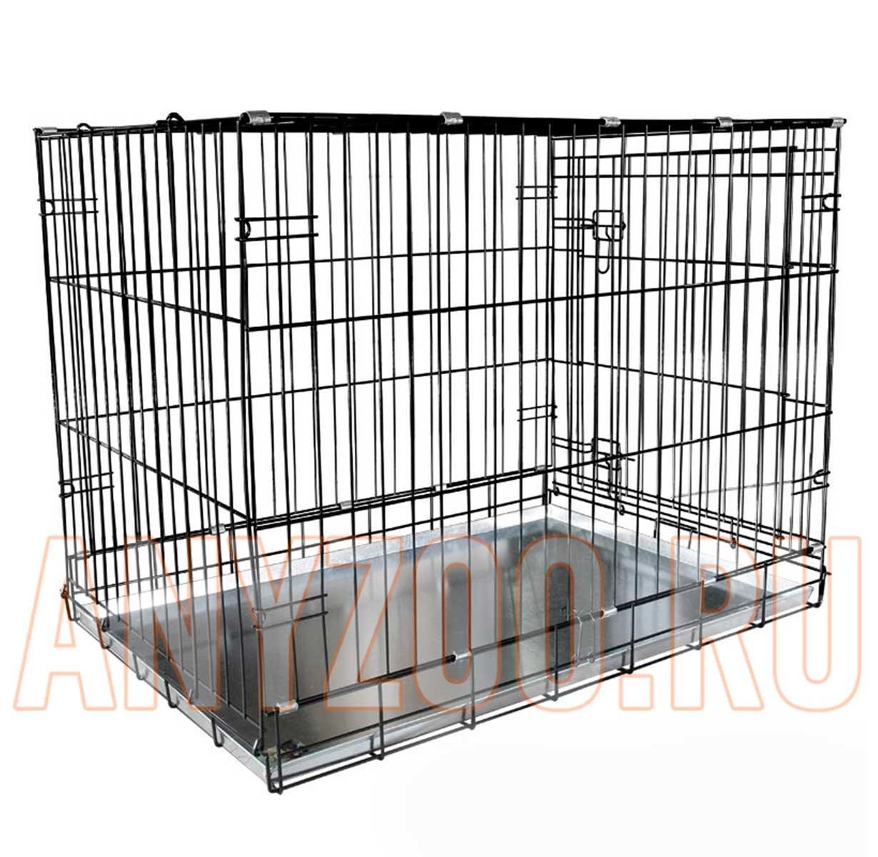 Triol 004-К Yongli Триол Клетка для животных крашеная, металлический поддон выдвижной (эмаль) 91.5*56*63.5см ( Клетки, вольеры для собак )
