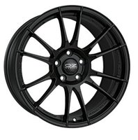 OZ OZ ULTRALEGGERA Matt black 8x17/5x108 D75 ET55