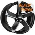 Диск колесный Fondmetal 7900 7.5x17/5x114.3 D67.2 ET35 Black matt polished - фото 1