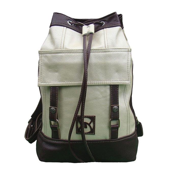 Рюкзак Sofitone RM 001 A4-C4 Светлый перламутр-Коричнево-вишневый