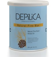 DEPILICA PROFESSIONAL Воск теплый, натуральный сосновый / Natural Pine Warm Wax 800 г