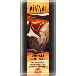 "Темный шоколад ""Нуга"". Vivani, 100 г"