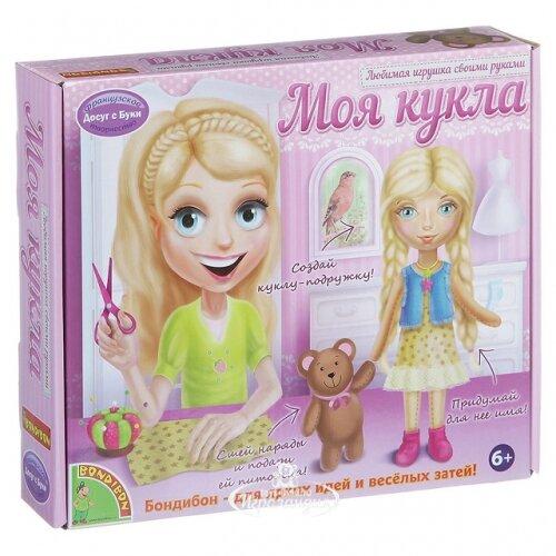 Bondibon Набор для шитья Досуг с Буки - Моя кукла Блондинка ВВ1410