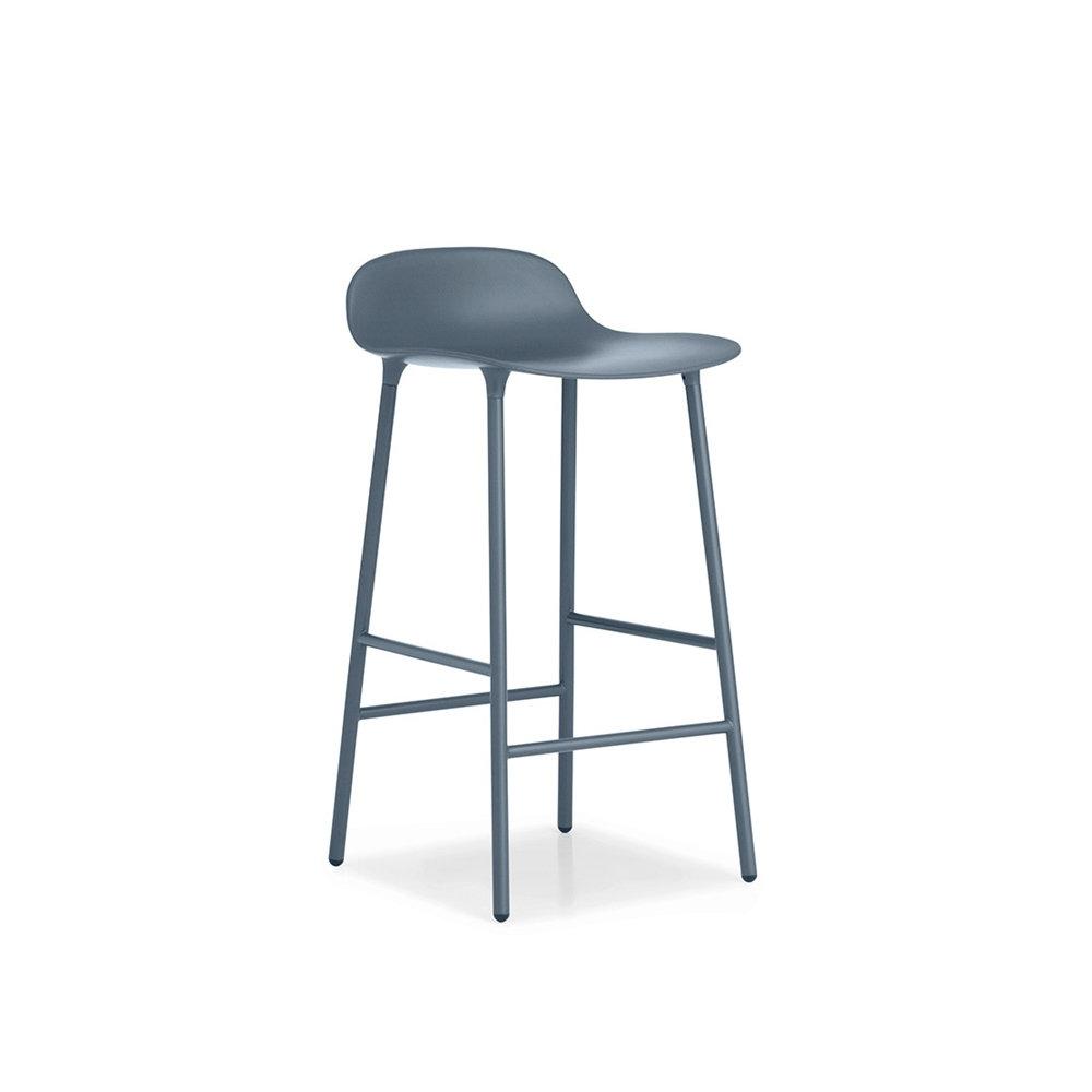 Барный стул Form 65 см, синий Normann Copenhagen