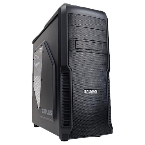 Корпус ATX Miditower Zalman Z3 Plus Black