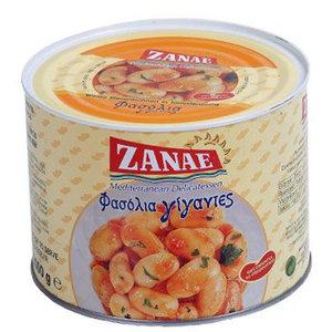 Zanae печеная гигантская фасоль в томатном соусе 2000г жесть
