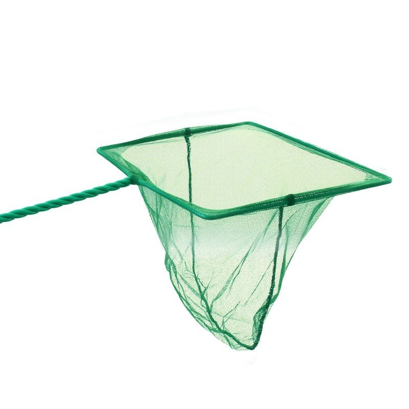 """Сачок квадратный """"Triol"""" (зеленый), 12x10 см"""