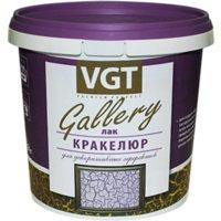 ВГТ GALLERY лак-кракелюр для декоративного эффекта, бесцветный (0,9кг)