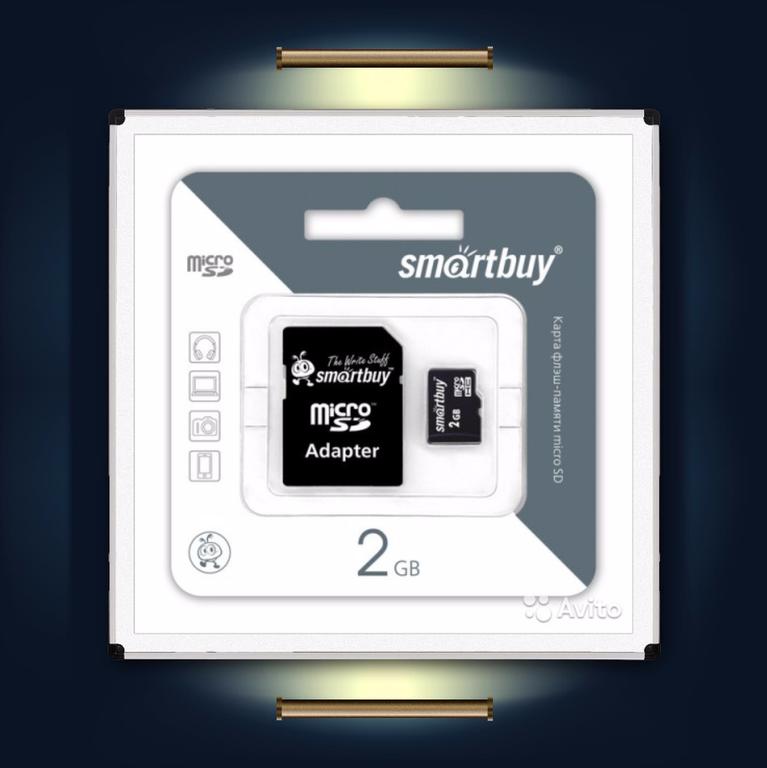 Дополнительная microSD карта для счетчиков посетителей CWP-SD
