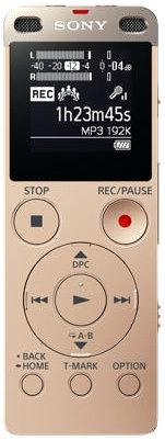Диктофон Sony ICD-UX560 (золотистый)