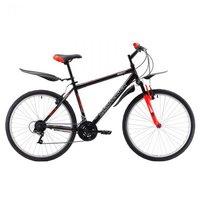 Велосипед для взрослых Challenger Agent 26 (2018) 18 черный/красный/белый