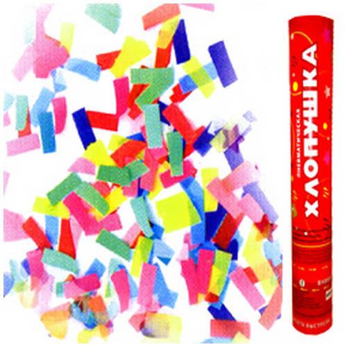 Хлопушка Бумажное конфетти - 40 см