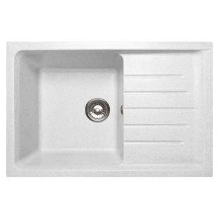 Кухонная мойка GranFest Practic GF-P760L белый (331)