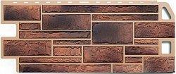 Фасадная панель (цокольный сайдинг) Альта-Профиль Камень Сланец