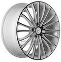 Колесные диски NZ Wheels F-49 7x17 5*110 ET39 d65.1 W+B - фото 1