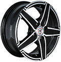 NZ Wheels F-1 6x15 4x108 ET 52.5 Dia 73.1 BKF - фото 1