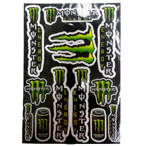 Наклейки LP MONSTER ENERGY 2