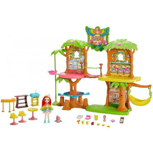 Куклы и пупсы Mattel Enchantimals GFN59 Джунгли-кафе