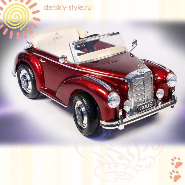 Электромобиль River-Auto 300S LS-618 (Черный глянец)