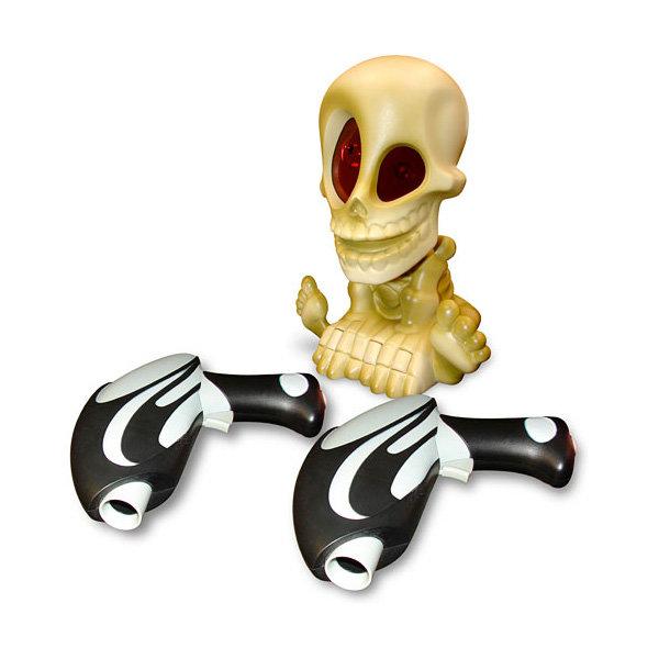Интерактивная игра Johnny the Skull 0669-2 Проектор Джонни Череп с двумя бластерами