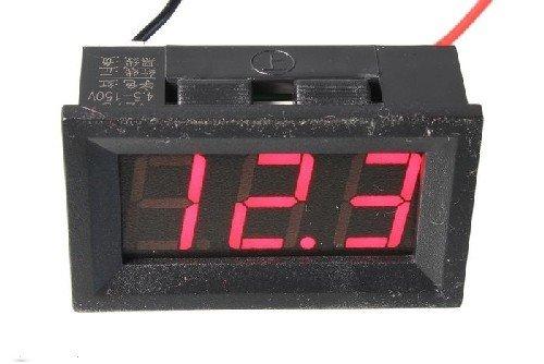 Цифровой двухпроводной вольтметр V27D (4,5-150В) 0,56
