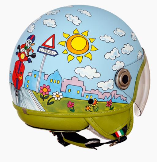 Шлем Braccialini DJD1 Motorbike TG (S)