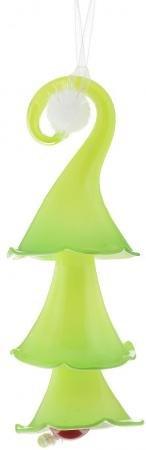 Украшение Winter Wings Елочка 20 см 1 шт зеленый стекло N07504