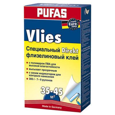 PUFAS Обойный клей EURO 3000 Флизелиновый Специальный директ