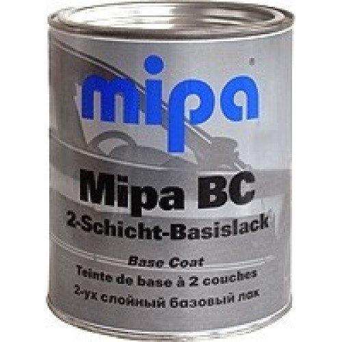 Mipa SUPER BLACK, базовая эмаль 1 л