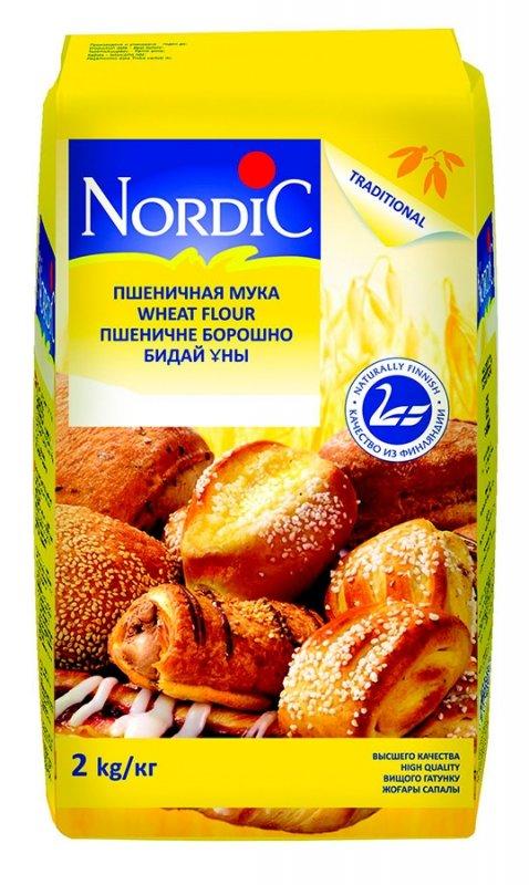 Мука Nordic пшеничная, 2кг