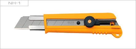 Ножи Нож OLFA NH-1 сверхпрочный, сегментированное лезвие 25мм, ручка ComfortGrip